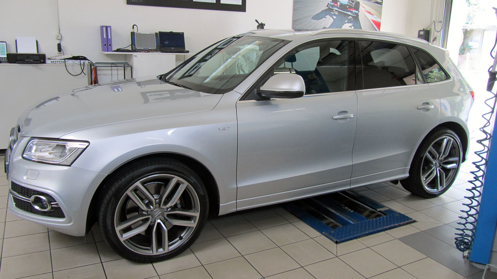 Audi SQ5 3.0lt V6 TDI, optimiert von 230KW / 313PS / 650NM auf 264KW / 360PS / 730NM