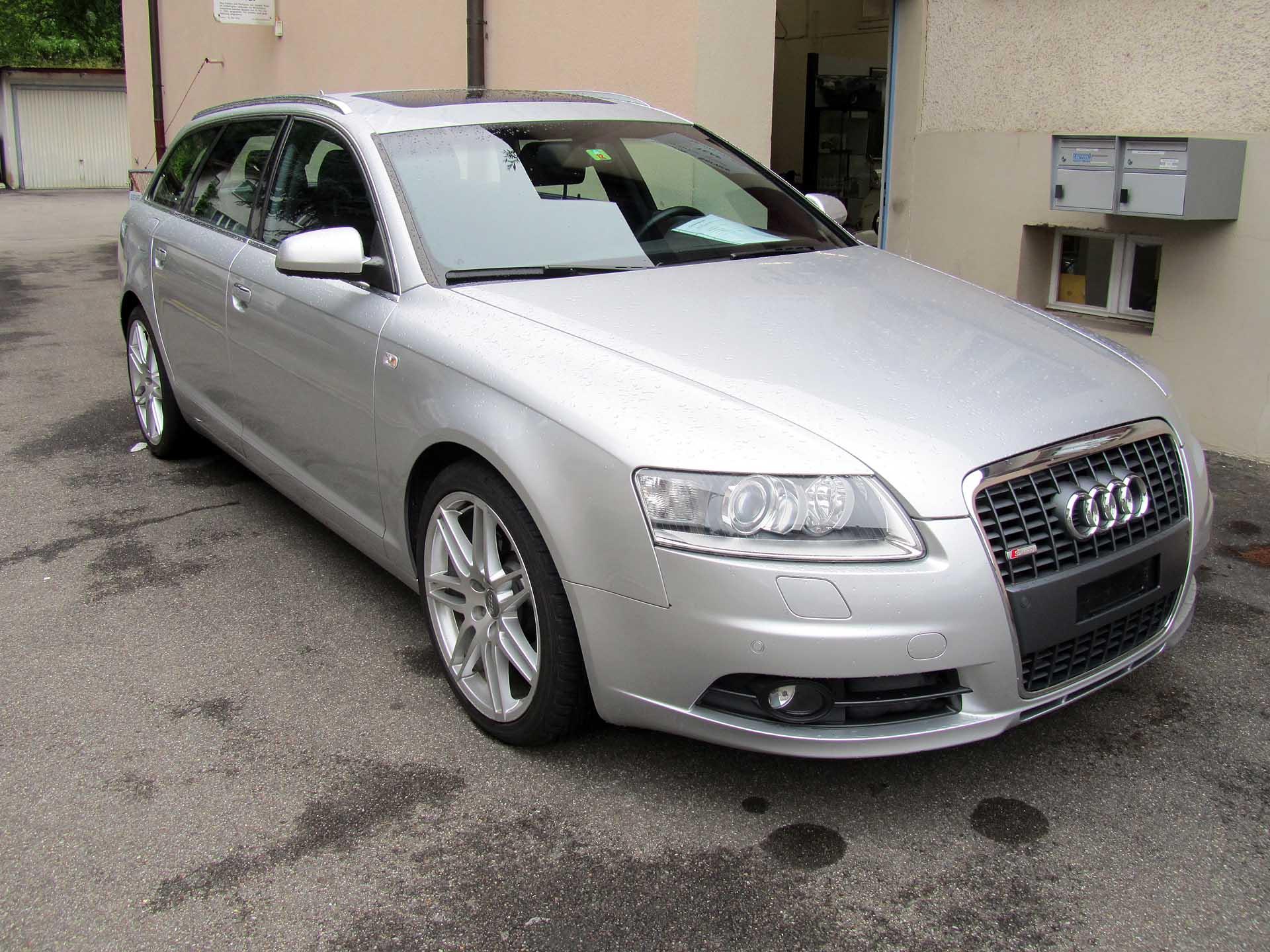 Audi A6 avant quattro 3.0lt s-line
