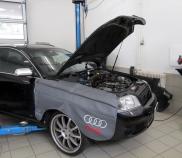 Audi RS6 Avant Quattro 4.2lt V8 Bi-Turbo 330KW in mechanischer Arbeit