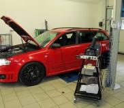 Audi RS4 Avant Quattro 4.2lt 309KW mit Systemtester