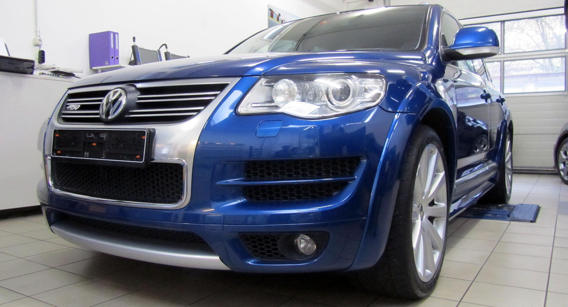 VW Touareg R50 V10 TDI 5.0lt mit elektronischer Tieferlegung