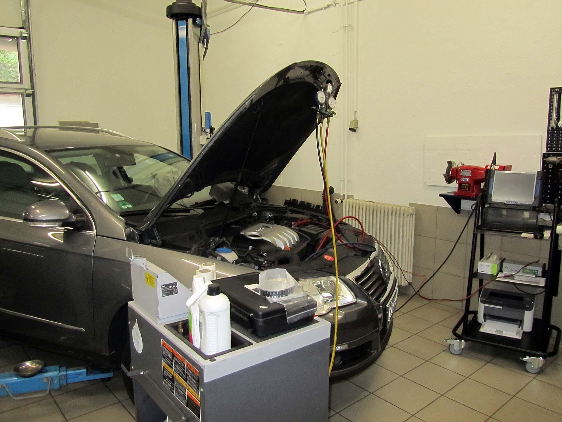 VW Passat 2.0lt TDI 125KW mit Climastation