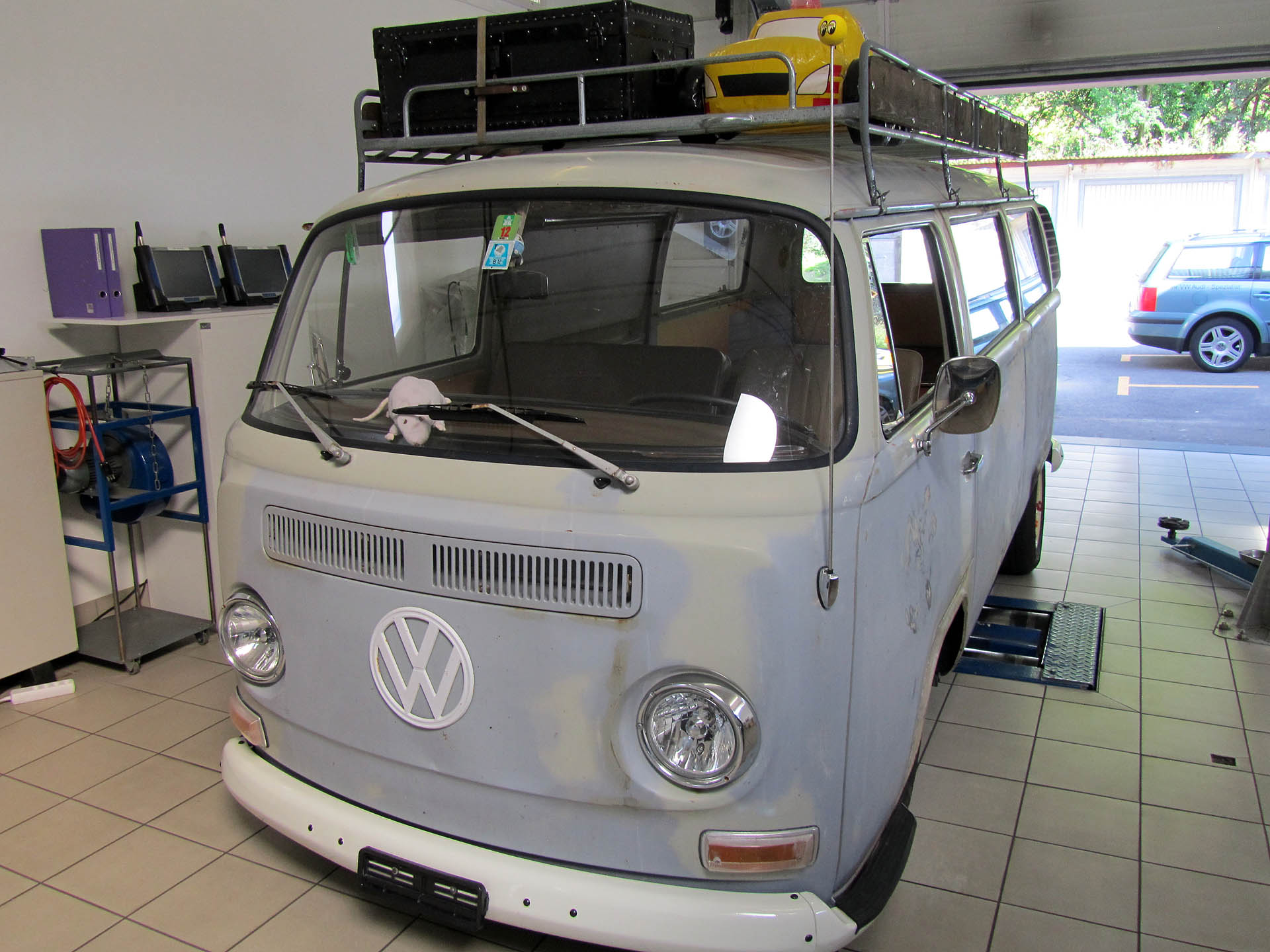 VW Bus Typ 1, 2.4 Lt, 125 Ps / 205 Nm